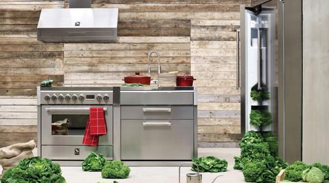 İtalyan Tarzı Steel Mutfaklar