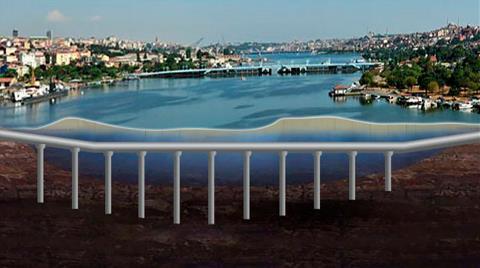 Haliç'e Su Altı Tüneli'nin Detayları Ortaya Çıktı