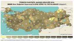 İşte Türkiye'nin Hava Kirliliği Raporu