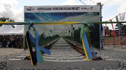 Doğu Afrika'nın En Hızlı Treninin Temeli Atıldı