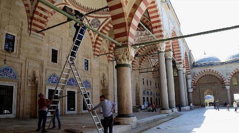 Selimiye Camisi'ne Bilgisayarlı Kontrol
