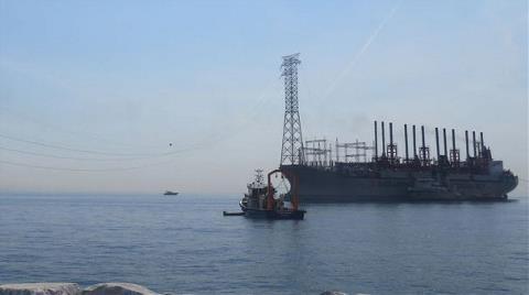 İstanbul'un Elektriğine Denizden Destek Geliyor