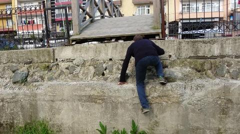 Rize'de Çıkışı Olmayan Köprü Yaptılar
