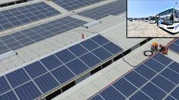 Elektrikli Otobüslerin Enerjisi Bu Çatıda Üretilecek