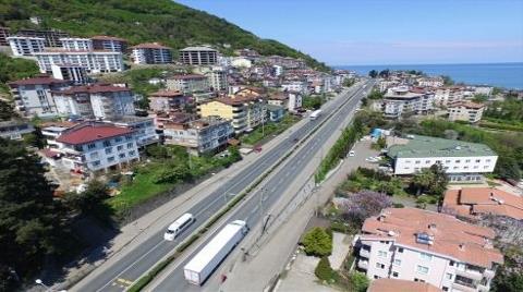 Karadeniz Sahil Yolu'ndaki Binalara Yeni Görünüm