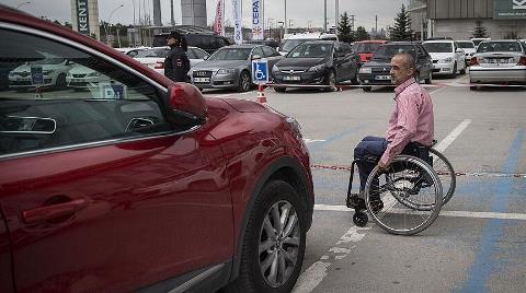 AVM'lerde Engelli Otoparkını İşgale 'Sıkı Denetim'