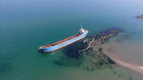 Gemiden Sızan Yağ Çevre Kirliliğine Neden Oldu