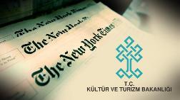 Kültür Bakanlığı'ndan New York Times'a 'Açık Mektup'