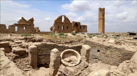 Harran'daki Ulu Cami Restore Edilecek