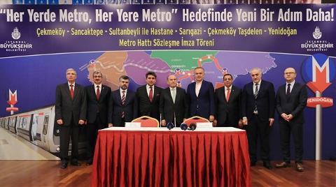 İstanbul'a Yeni Metro için İmzalar Atıldı