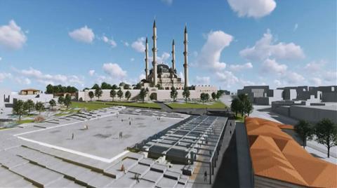 Selimiye Camisi'nin Çevresini Değiştirecek Projeye Onay
