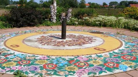 Polonya'da Çiçek Desenli Köy