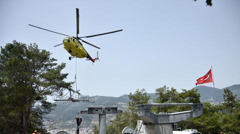 Özel Helikopterle İnşa Edildi
