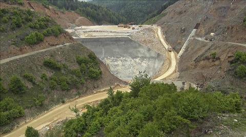 Akçay Barajında Sona Doğru