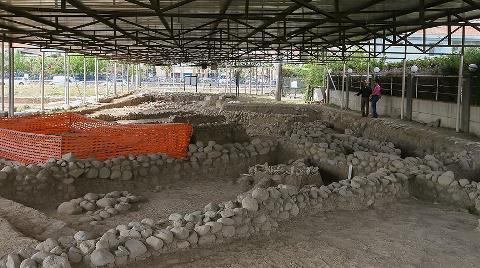 5 Bin Yıllık 'Lüks Site'nin Kalıntıları Bulundu