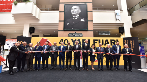 40. Yapı Fuarı – Turkeybuild İstanbul Kapılarını Açtı