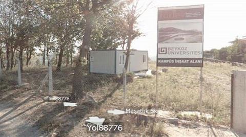 Beykoz'da Sit Alanı Bir Özel Üniversite için İmara Açıldı