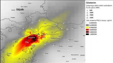 'Çanakkale'nin Havası' İstanbul'u da Kirletecek