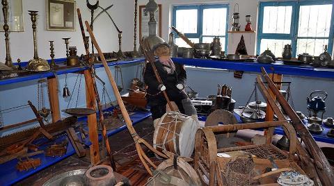 Eski Okul Binası 'Köy Müzesi' Oldu