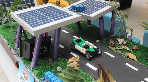 Metrobüsler için 'Güneş Enerjili Yol' Tasarladılar