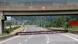 TEM'in Ankara Yönü Ulaşıma Kapatıldı