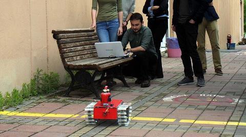 Yangınla Mücadele Robotu Kayıpları Asgariye İndirecek