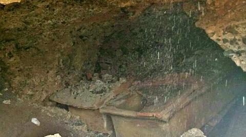 Cami İnşaatında Tarihi Mezar bulundu