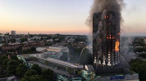 Londra Belediye Başkanından Yangın Açıklaması