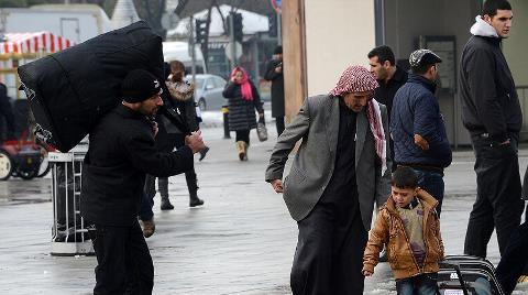 Suriyeliler İstanbul'u Mesken Tuttu