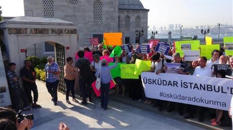 Üsküdarlılardan Tarihi Cami için Eylem