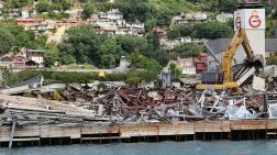 Boğazda Yıkılan Yapıların Enkazı Hala Duruyor!