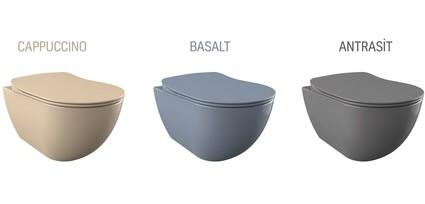 Creavit'ten Banyolara Yeni Renk Alternatifleri