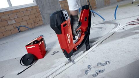 Hilti'den GX 3 Gazlı Çivi Çakma Makinesi