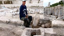 Sagalassos'ta 2 Bin Yıllık Çeşme Bulundu