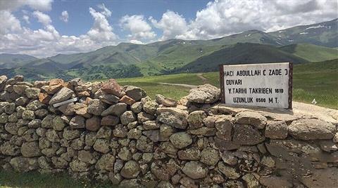 Maden Projesi 407 Yıllık Tarihi Duvarı Yok Edecek