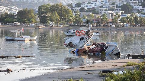 Deprem Sonrası Bodrum'da Tsunami Oluştu