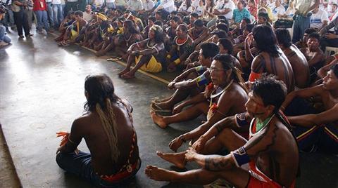 Amazon'da HES Direnişi