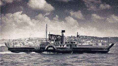 Osmanlı Arşivlerine göre Dünyanın İlk Arabalı Vapuru 'Suhulet'