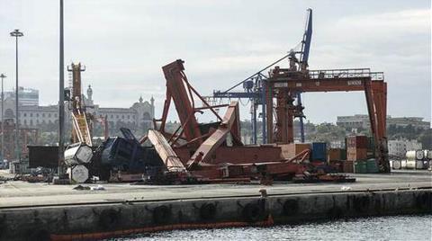 Haydarpaşa Limanı Savaş Meydanı Gibi