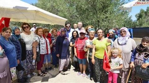 Köylüler 25 Gündür Ağaçları için Nöbette