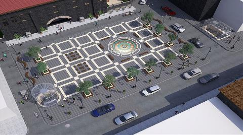 Tarihi Ulu Cami'ye Çevre Düzenlemesi Yapılıyor