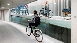 Hollanda'dan Bisiklet Kullanıcılarına Özel Alan