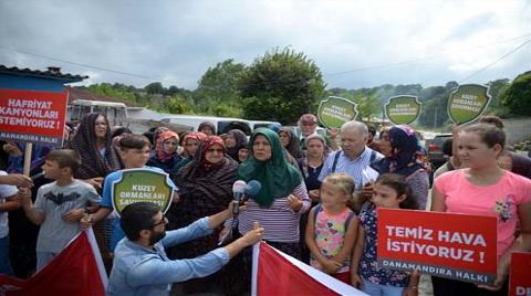 Köyde 'Hafriyat Kamyonu' İsyanı!