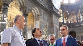 Ayasofya ve Topkapı Sarayı'ndaki Restorasyon Sürüyor