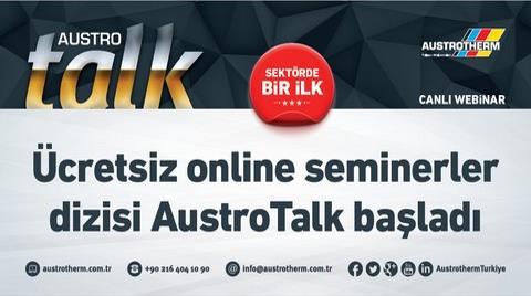 """Austrotherm Türkiye'den """"Canlı Webinar Austrotalk"""""""