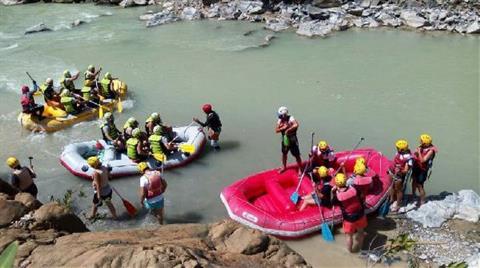 Dalaman'daki Son Rafting Parkuruna da HES Yapılıyor
