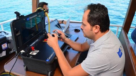 """Adalar'ın Elektriği """"Denizaltı Robotu""""na Emanet"""