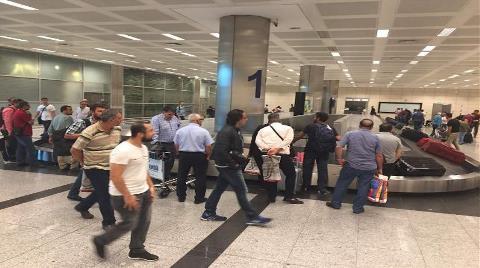 Türk İşçiler Erbil'den Tahliye Ediliyor