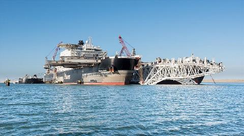 TürkAkım Projesi Deniz Geçişinde ÇED Raporuna Onay
