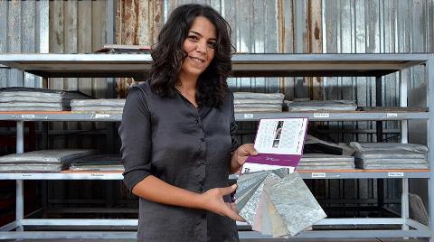 Kadın Mermerci Sektörde Yeniliklerin Öncüsü Olmak İstiyor